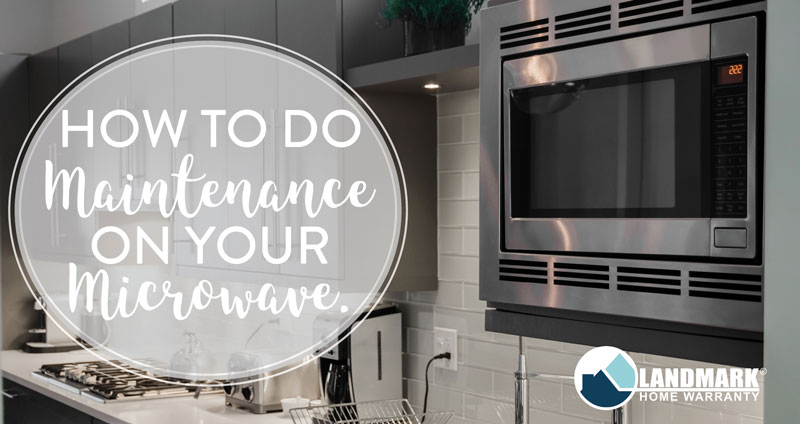 Doing routine maintenance on your microwave will keep your microwave runninf gor its entire lifespan.