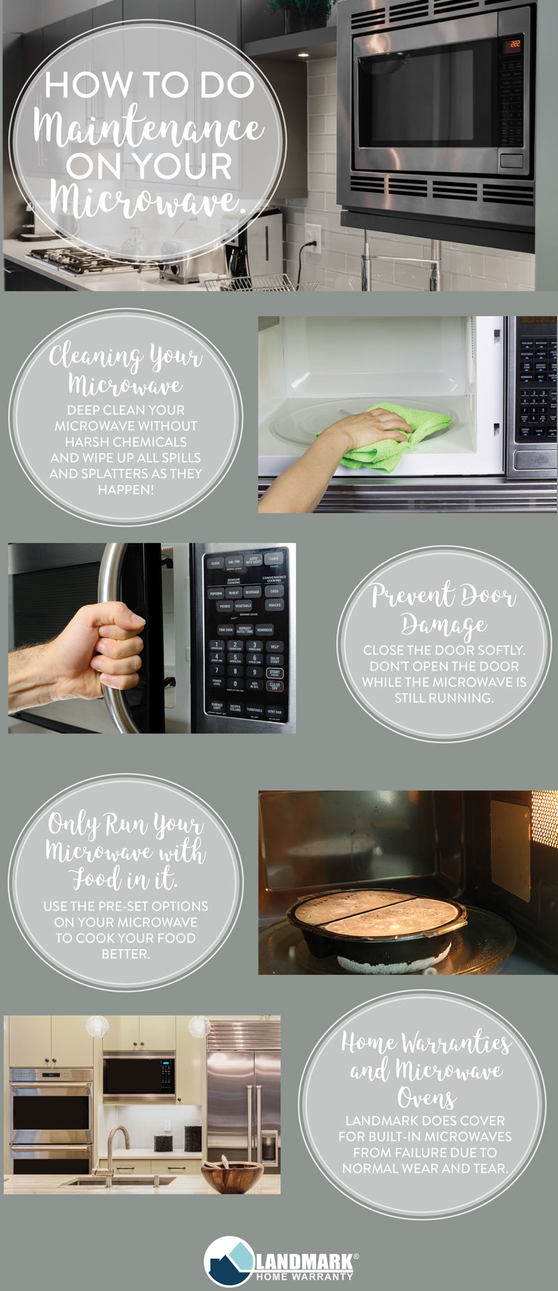 Use these microwave oven tips to keep your microwave running its entire lifespan.