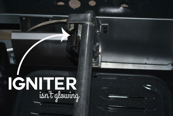 Is your igniter not glowing when you turn your gas oven on?