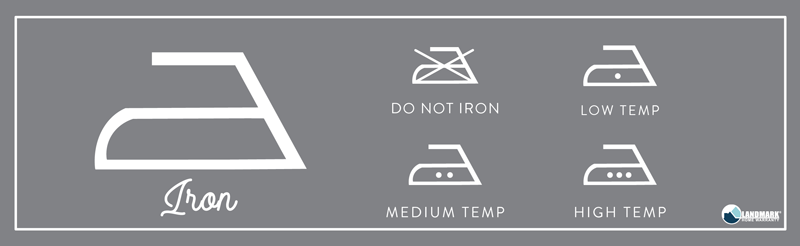 What the ironing symbol means on your laundry.