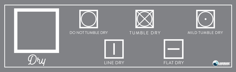 What the square drying symbol means on your laundry.