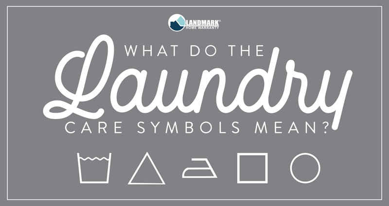 Learn what the laundry symbols mean on your clothes with this printable graphic.