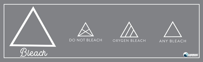 What the triangle symbol means on your laundry.