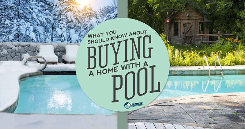 Learn more about buying or selling a home with a pool here.