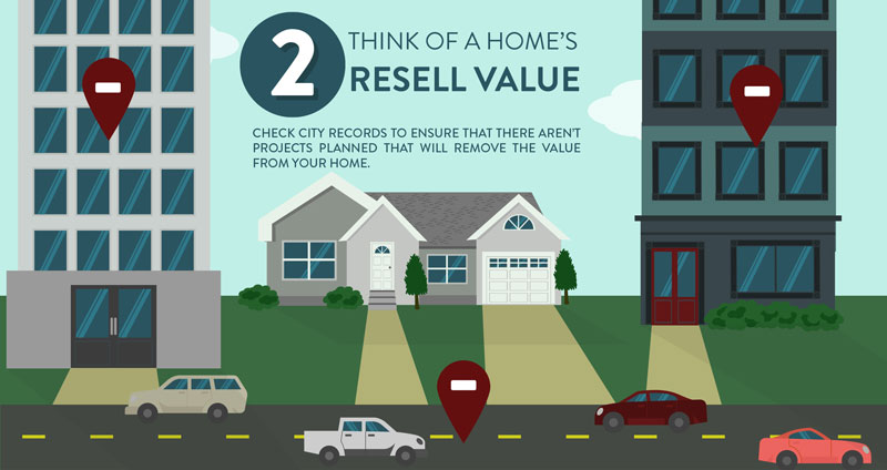 Think about resell value when buying a home.