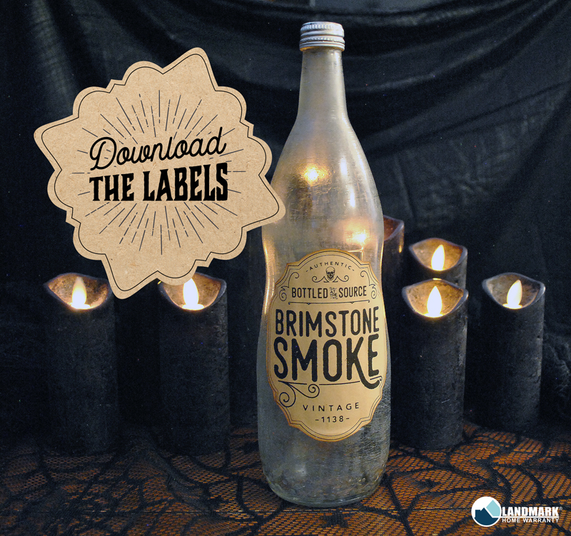 Apothecary bottle labels for download.