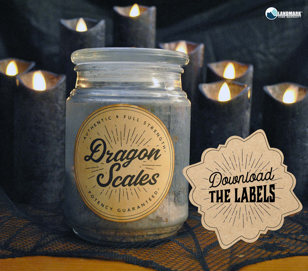 Download the potion bottle labels for free.