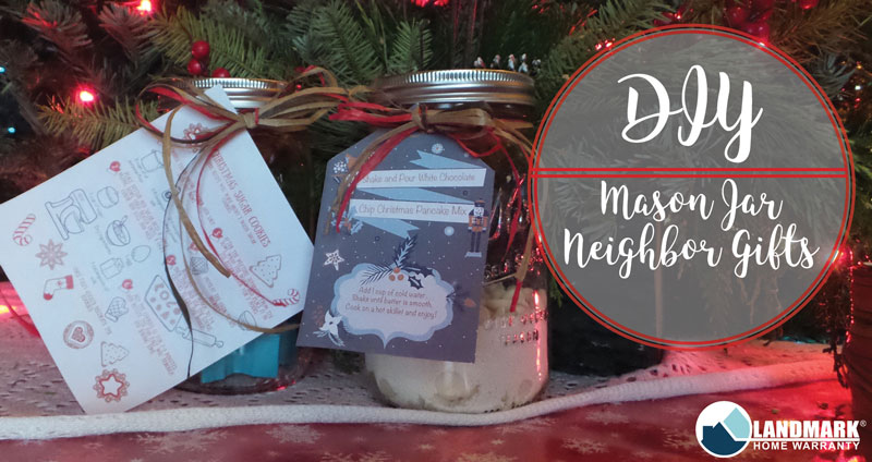 Finding the perfect gift for your neighbor can be hard. So, make them one of these mason jar gifts that they can use this holiday season!