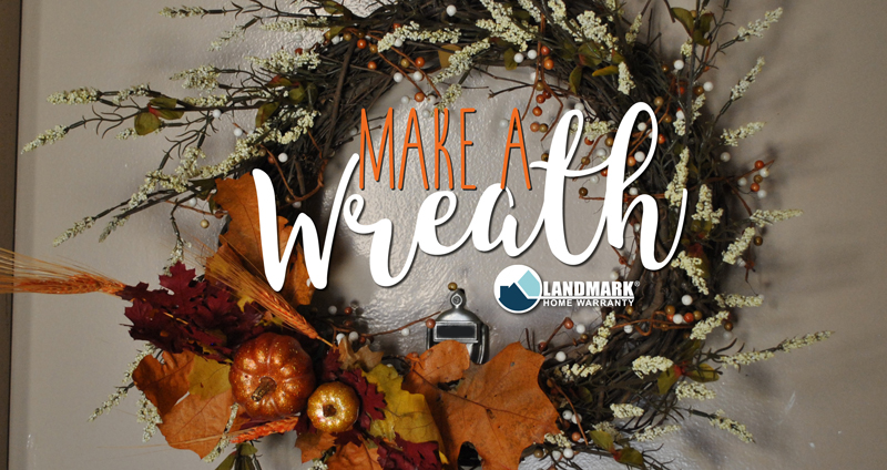 Make a wreath for any season, lear how you can add to your fall decor here.