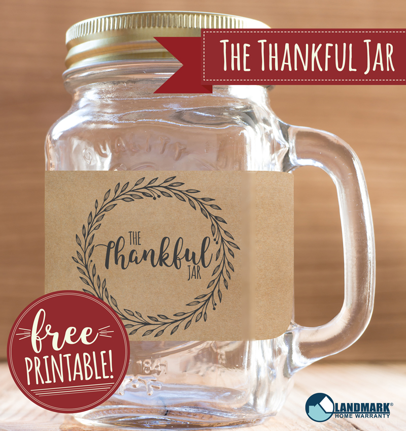 Try the Thankful Jar as a fun Thanksgiving activity this year.