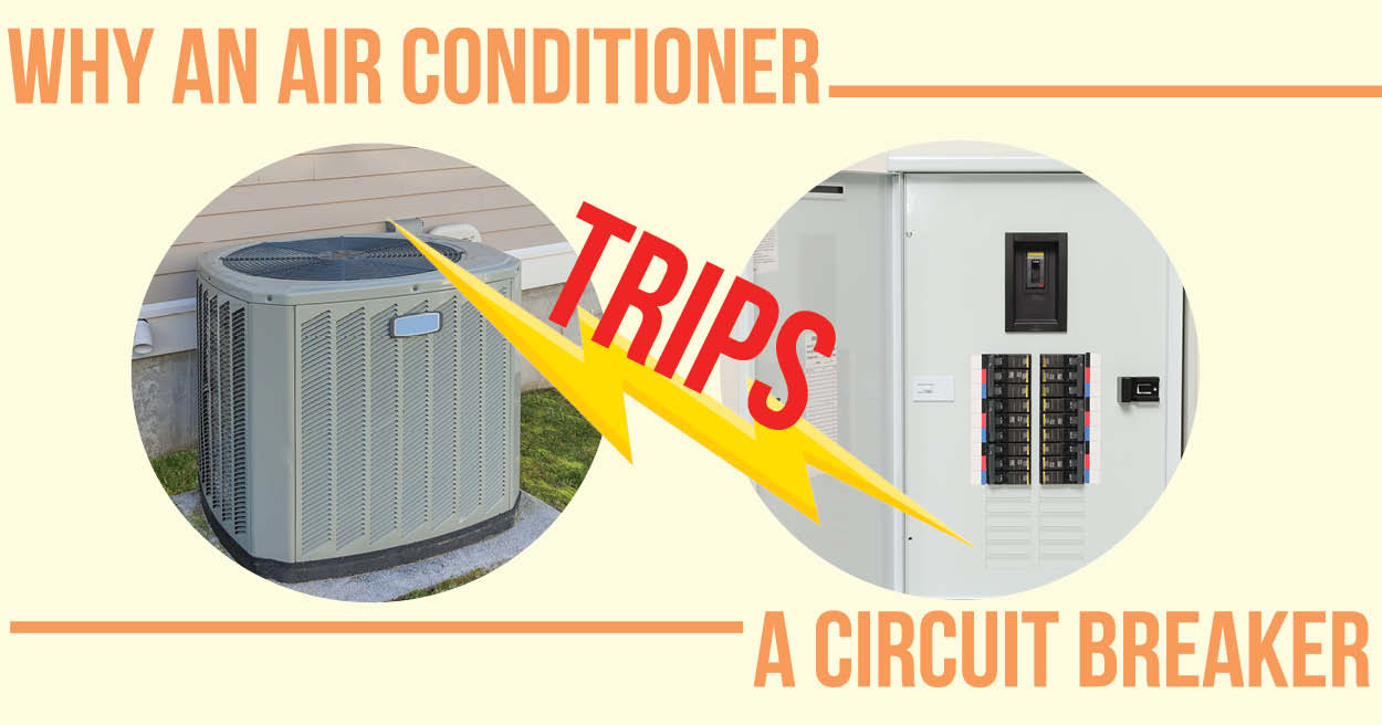 Why Is My Air Conditioner Tripping The Circuit Breaker To Build A Simple Unit Electronic Learn An Trips