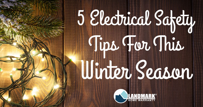 Here are 5 electrical safety tips to help you avoid an electrical house fire during this holiday season.