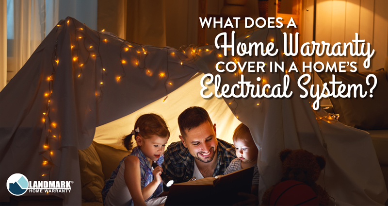 Learn more about what a home warranty covers in a home's electrical system header.