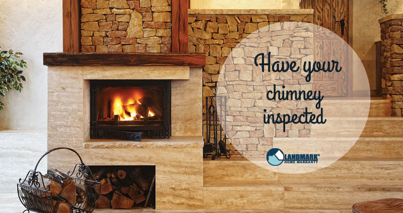 image explaining why you should get your chimney swept before you turn it on
