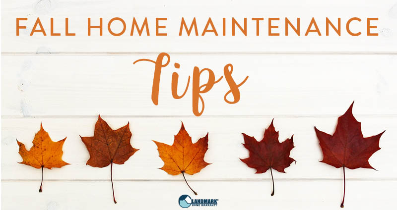 header image for the blog fall home maintenance tips