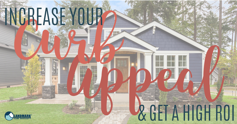 header image for the blog Increasing Your Curb Appeal and Get a High Return on Investment