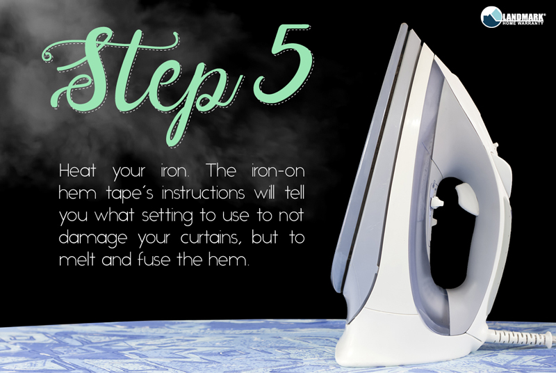 Heat your iron to the correct setting.