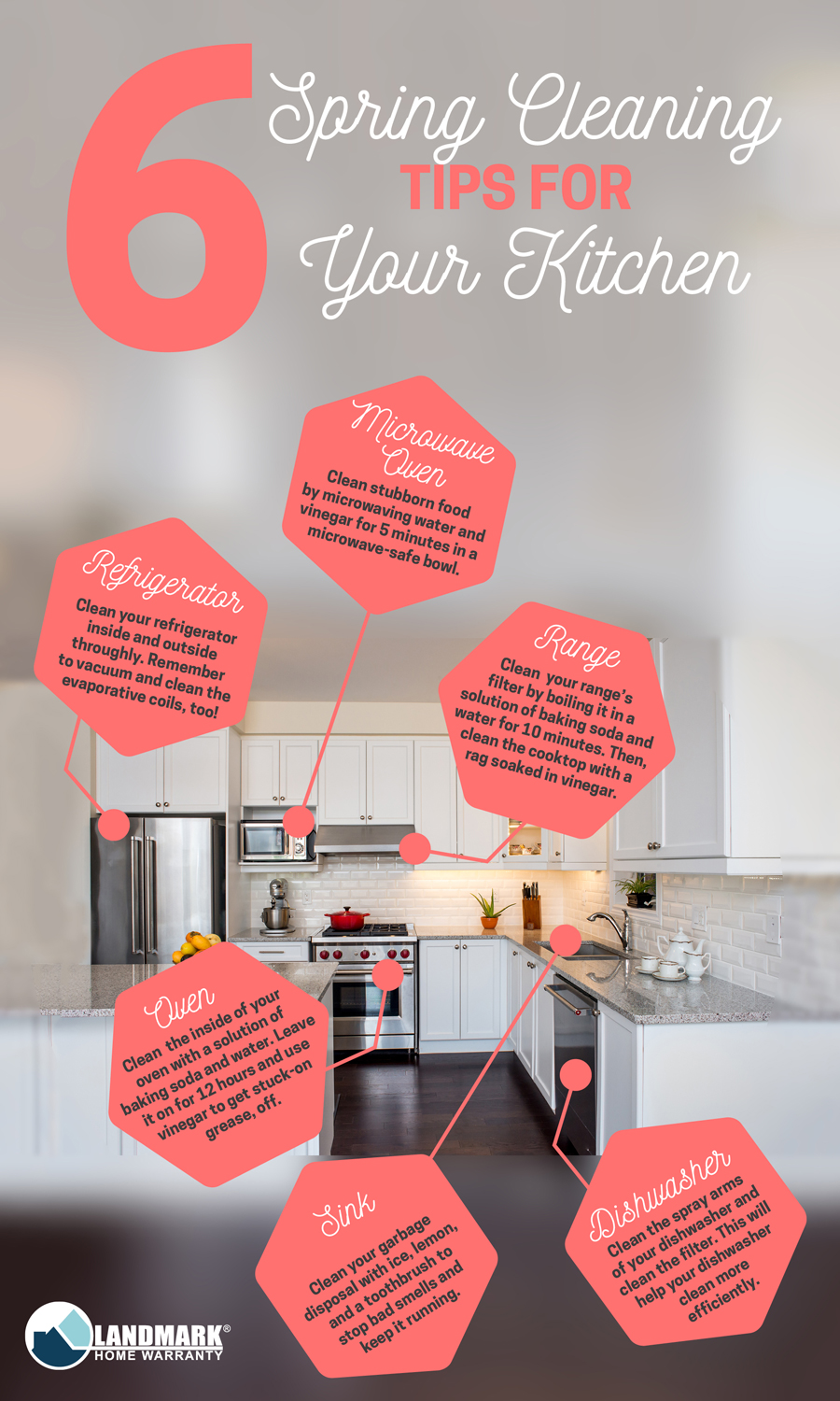 Spring cleaning tips for your home.