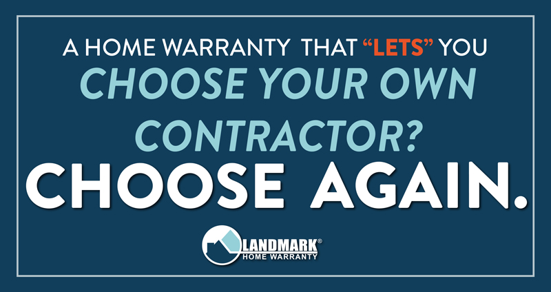 Home warranty companies that make it so you have to choose your own contractor end up costing you more money and time.