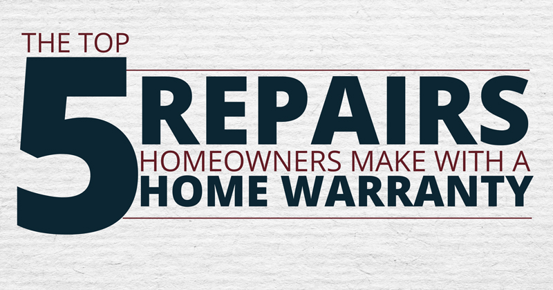 5 Things Homeowners Repair With A Home Warranty
