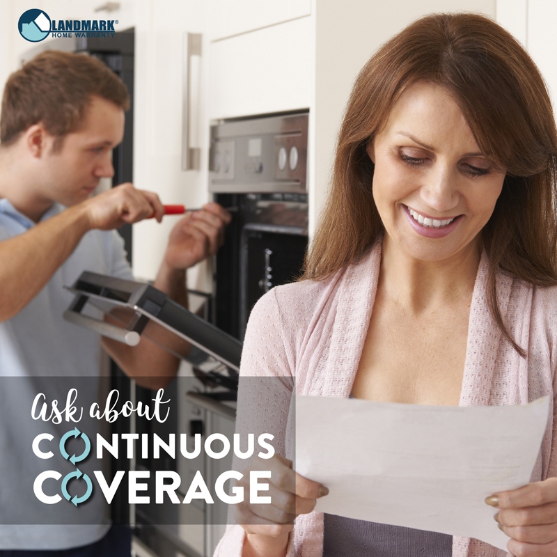 Get continuous coverage with home warranty renewal.