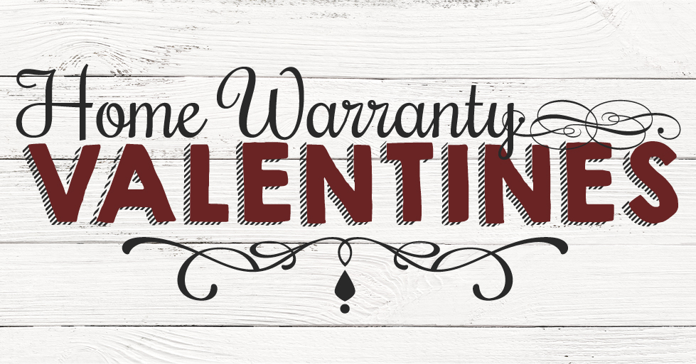 Home warranty Valentines from Landmark.