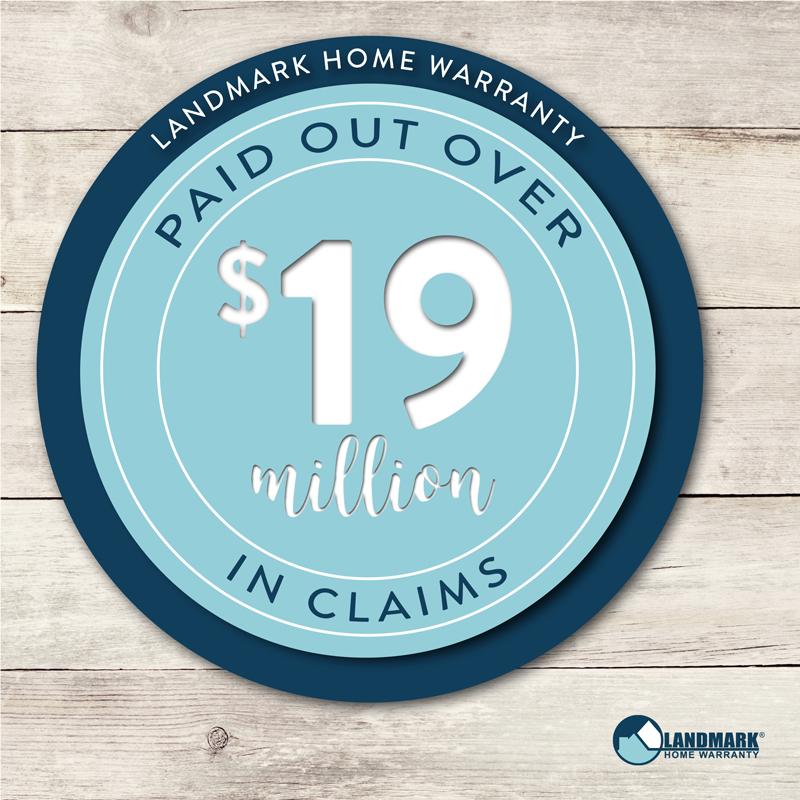 Landmark Home Warranty paid out $19 million in claims.