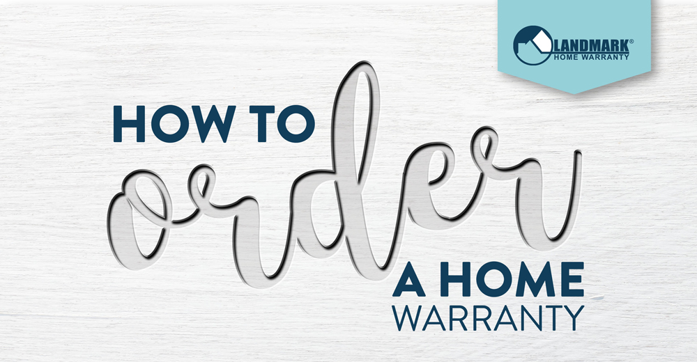 How to order a Landmark Home Warranty plan on your own home.
