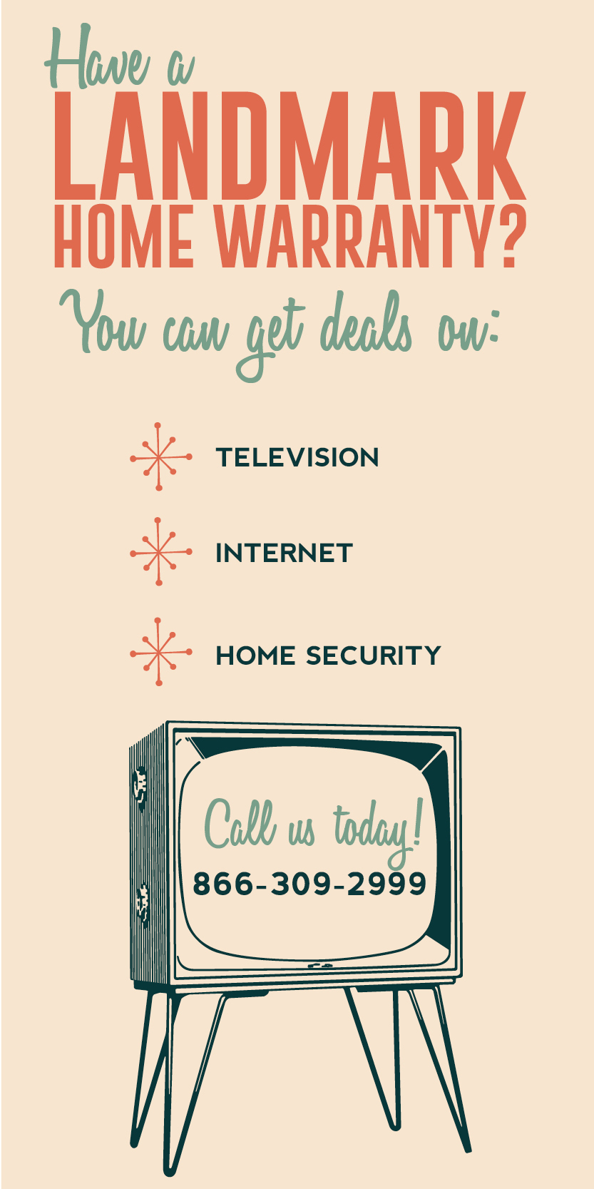 Home warranties can save you money on different home services like internet, television and home security systems.