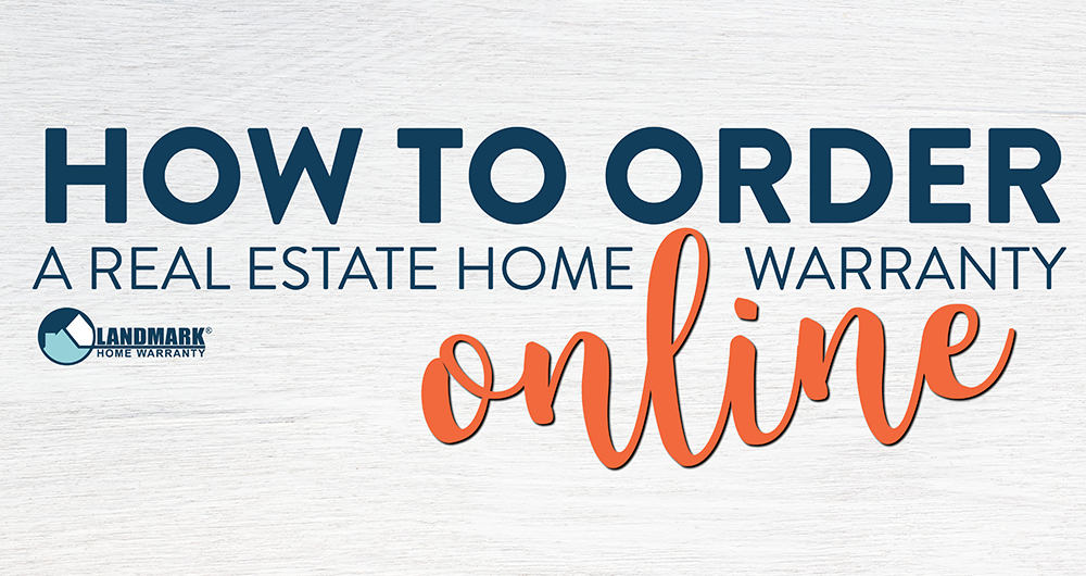 Learn how to order a real estate home warranty plan for your clients.