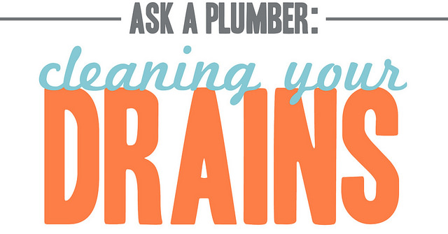 header image linking to the blog ask a plumber what the best way to clean your drains
