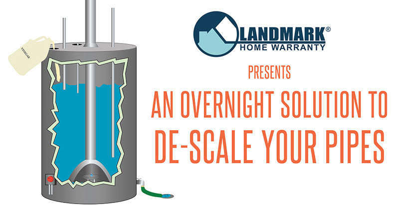 header image linking to the blog how descale your pipes overnight