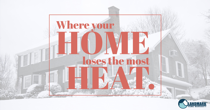 Where your home loses the most heat header image