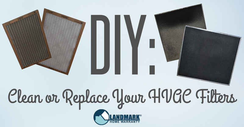 DIY step-by-step explanation on how to clean or replace your HVAC filters.