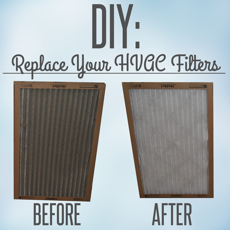 How to change out your HVAC's filter.