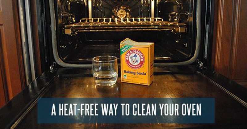 Learn how to clean your oven without using the damaging self cleaning feature in this DIY article.