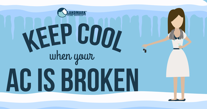 Keep cool while your air conditioner is broken this summer.