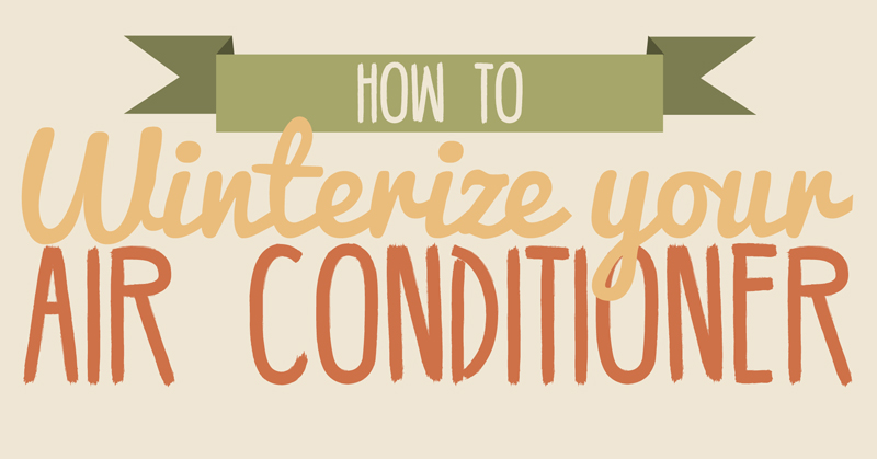 Learn how to winterize your air conditioner this fall and how a home warranty can help.
