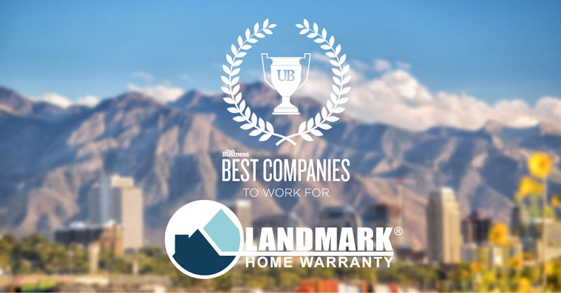 Landmark Home Warranty rated one of Utah's best places to work