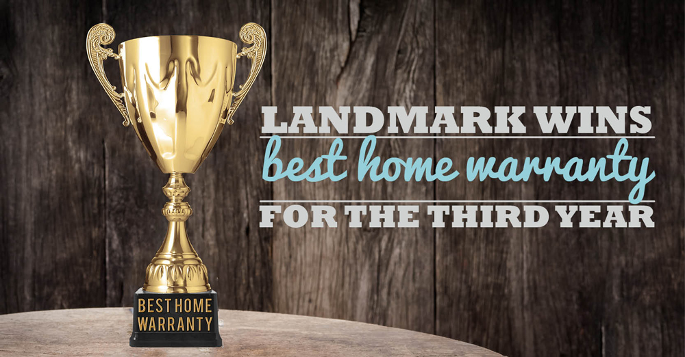 Landmark Home Warranty is named the best home warranty company in the region for 2016.