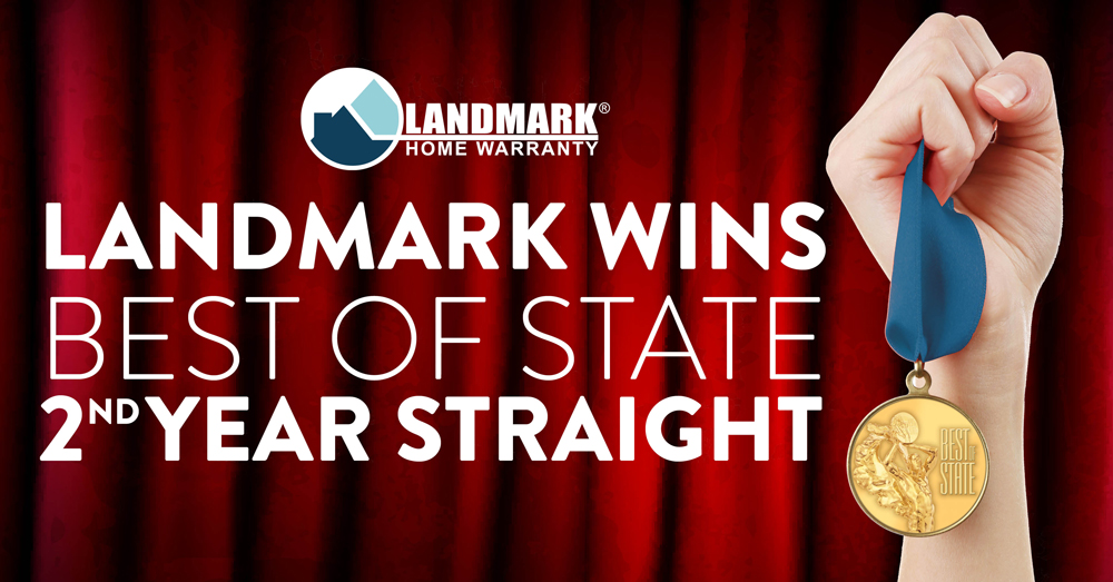 Landmark was rated the best home warranty company in the state of Utah for 2016.