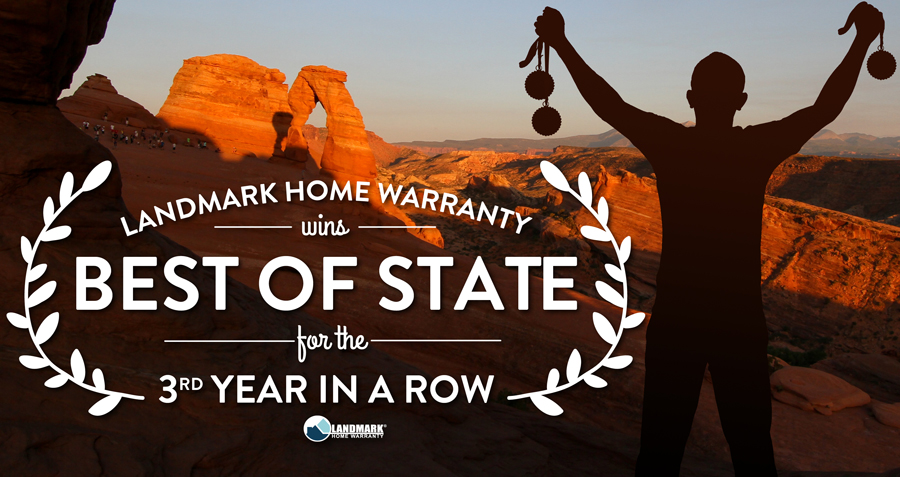 Landmark Home Warranty is the best of state in Utah for home and appliance services.