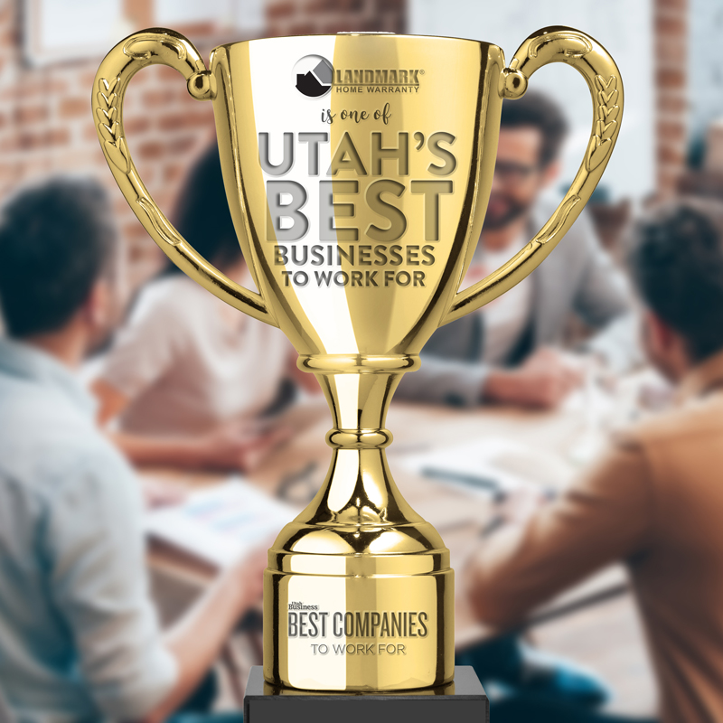 Landmark Home Warranty has been named one of the best companies to work for in Utah for the second year in a row.