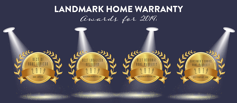 Landmark Home Warrantyhas now won four best service and coverage home warranty awards for 2019.