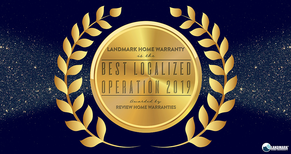 Landmark Home Warranty is the Best Local Home Warranty for 2019.