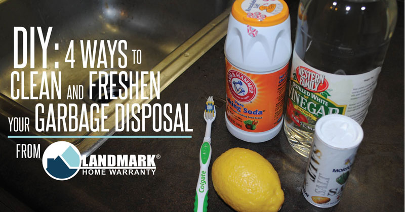 Clean your garbage disposal and get it to smell nice and fresh.