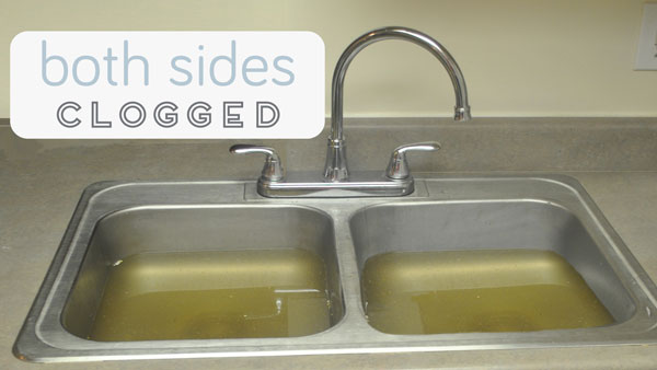100 clogged sink kitchen clogged double kitchen sink intereuble fix a clogged sink workwithnaturefo