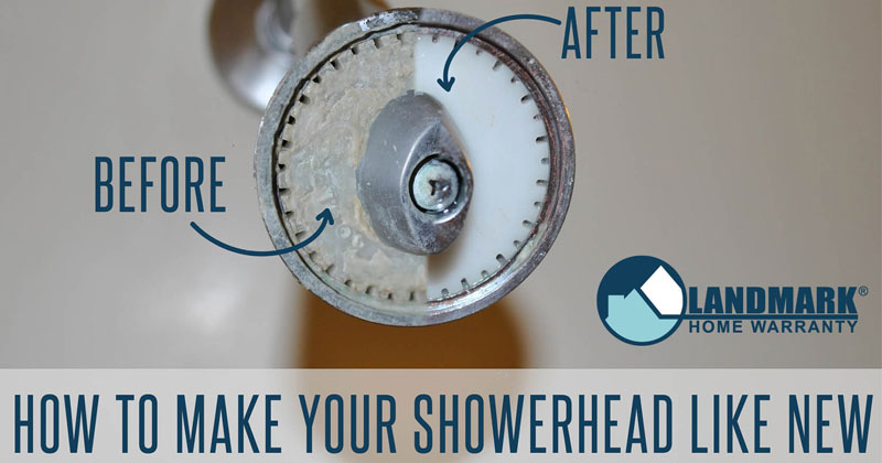Make your showerhead look like new with this simple, overnight tip.