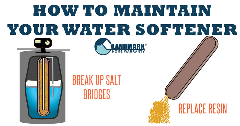 Article about how to maintain and clean your water softener.