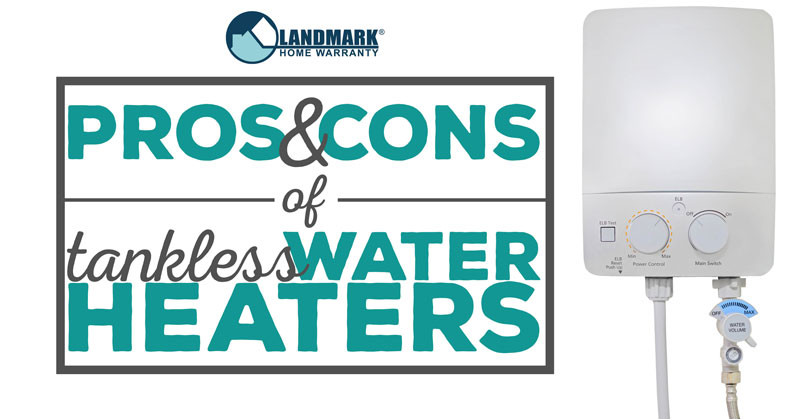 Header image for the article about the good and bad of a tankless water heater.